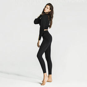 秒瘦10斤的小黑裤,法国科技,燃脂还美腿!珂宣尼 KEEXUENNL 闪电裤S1、A4高腰无痕束腹裤!穿着穿着真瘦了!提拉收紧赘肉,玻尿酸深层保湿,重塑燃脂,透气舒适!