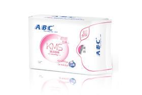 【京东】ABC KMS棉柔系列卫生巾 纤薄夜用280mm*8片【个护清洁】