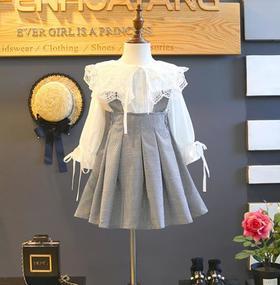 【童装】款韩版时尚洋气两件套