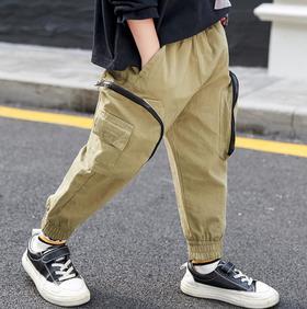 【童装】秋款潮儿童韩版洋气裤子