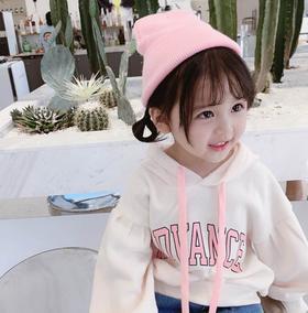 【童装】秋装儿童连帽宽松卫衣