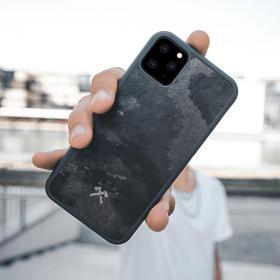 【真·原生态手机壳】德国WOODCESSORIES iPhone11 Pro Max石头手机壳防摔 木纹保护套