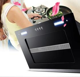 【robam】抽油烟机家用壁挂式抽烟机双电机侧吸式大吸力自动清洗油烟机