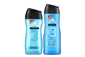 【京东】阿迪达斯(Adidas)二合一洗发沐浴套装 (运动后舒缓400ml+250ml) 深层清洁 舒缓肌肤【个护清洁】