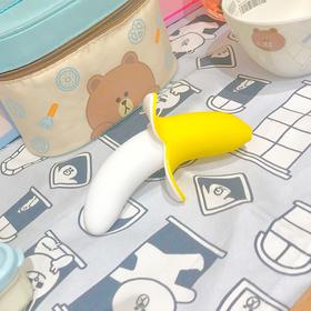 歪歪马新品可爱小香蕉 食品级硅胶 软萌高颜值造型 10种震动频率 深度防水