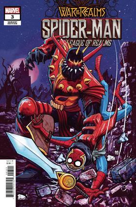 变体 诸界之战 War Of Realms Spider-Man & League Of Realms