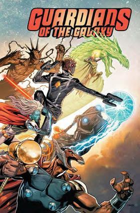 变体 银河护卫队 年刊 Guardians Of The Galaxy Annual