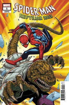 变体 蜘蛛侠 Spider-Man Reptilian Rage