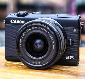 【佳能】Canon/佳能 EOS M100 套机15-45STM 入门级 微单数码相机高清旅游