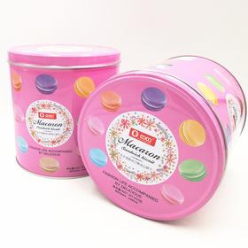 coco马卡龙综合口味夹心饼干粉色350g