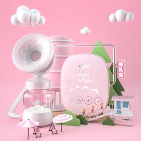 【母婴用品】电动挤奶吸奶器可充电孕产妇拔奶器吸力大按摩静音自动吸乳器