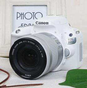 【canon】佳能 EOS 200D套机18-55 单反相机入门级 数码高清照相机佳能200D