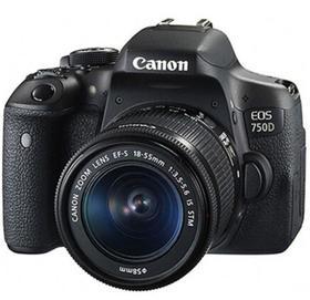 【佳能】单反相机Canon/佳能EOS 750D(18-55STM)套机高清数码单反照相机