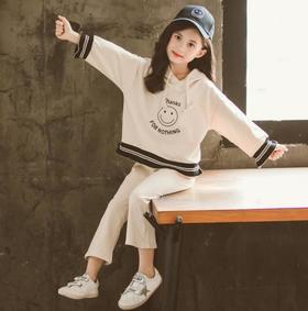 【童装】秋季新款韩版儿童中大童女孩运动休闲两件套