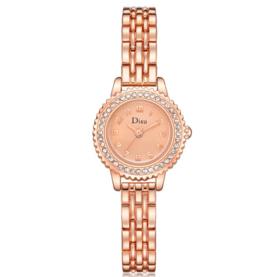 【女士手表】石英表欧美镶钻高贵时装手表简约休闲女款表手表