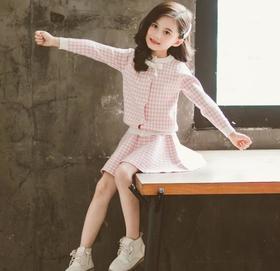 【童装】中大童针织毛线两件套