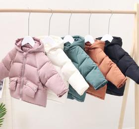 【童装】秋冬装新款韩版加厚男女童羽绒棉衣