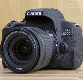 【佳能】Canon/佳能EOS 800D(18-55mmSTM)套机高清入门级照相机单反相机