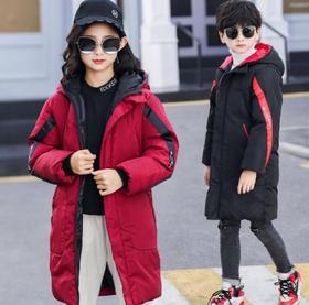 【童装】新款中大童加厚羽绒棉服
