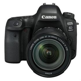 【佳能】Canon/佳能EOS 6D Mark II 套机(24-105 STM) 全画幅单反数码相机