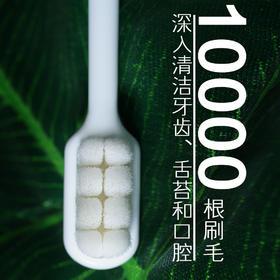 【一根不一样的牙刷,效果堪比洗牙】美时洁超细万毛牙刷2.0,快速深入清洁牙渍、口臭牙龈出血全解决!
