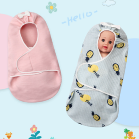 【婴儿用品】婴儿防惊跳睡袋新生儿襁褓包巾宝宝抱被春夏0-3个月