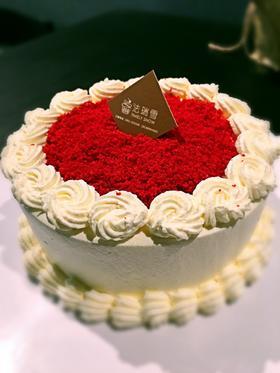 0元抢6寸蛋糕!颜值超高、甜而不腻的红丝绒限量抢购~