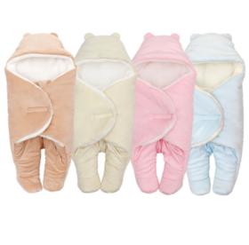 【婴儿用品】婴儿睡袋新生儿秋冬防惊跳襁褓宝宝抱毯男女儿童睡袋母婴用品