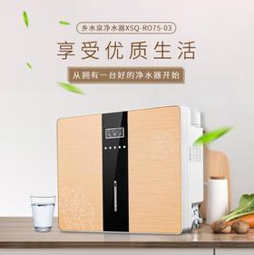 【净水器】净水器家用 厨房台式五级RO反渗透净水器 苹果6代净水器纯水机