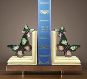 【装饰品】中式摆件书房学生礼品蝴蝶书靠