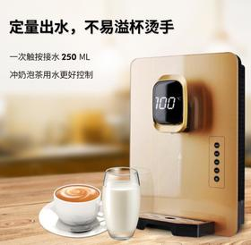 【净水器】大屏即热式家用壁挂式管线机 净水器伴侣饮水机 玻璃面板可调温度