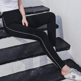 【打底裤】大码女装打底裤女外穿薄款裤