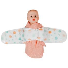 【婴儿用品】新生儿纯棉防惊跳襁褓宝宝护肚围婴儿护肚脐母婴用品四季通用