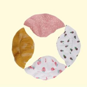 【婴儿用品】宝宝帽子春夏公主帽子女宝宝3-6-12个月薄款遮阳太阳帽渔夫盆帽