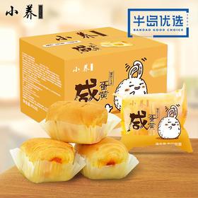 小养咸蛋黄面包450g*1箱手撕糕点零食小吃营养早餐蛋糕休闲食品