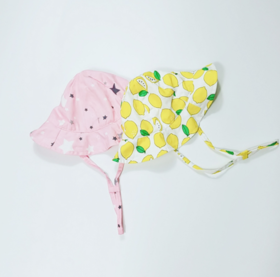 【婴儿用品】男女宝宝遮阳帽婴儿帽子夏季防晒帽薄太阳帽纱布渔夫帽