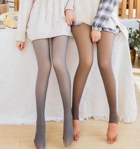 【打底裤】空姐灰透肤一体裤透真肤打底裤
