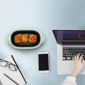 不负小时光的美食神器 - 美的OMG小食器,用于微波炉的mini烤箱