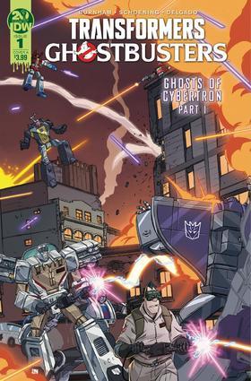 变形金刚 捉鬼敢死队 Transformers Ghostbusters