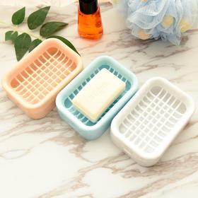 【超值3个装】双层沥水肥皂 盒创意浴室卫生间手工皂架