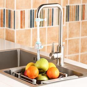 H&3 2个装厨房自来水滤水器水龙头过滤器净水器节水防溅花洒
