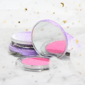 魅力时尚粉色腮红珠光哑光