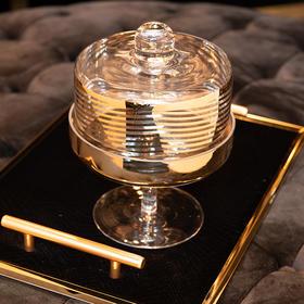 北欧进口玻璃瓶卧室客厅桌面摆件样板房酒店软装饰品