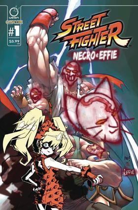 变体 街霸 Street Fighter Necro & Effie