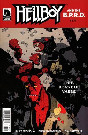 变体 地狱男爵 Hellboy And Bprd Beast Of Vargu
