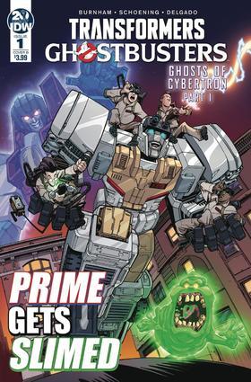 变体 变形金刚 捉鬼敢死队 Transformers Ghostbusters