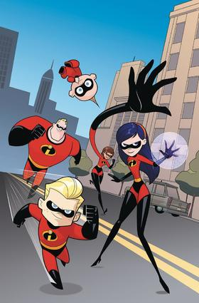 变体 超人总动员 Disney Incredibles 2 Secret Identities