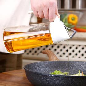 人见人爱的厨房神器!【油醋酱酒皆可装】再也不用担心漏油了,全新防漏油壶!