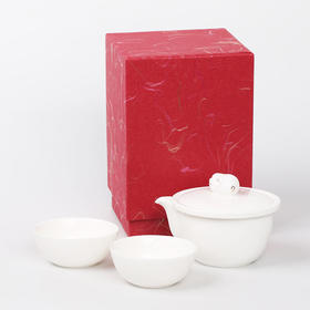 玉福猪茶具套组