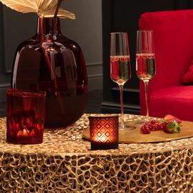 北欧进口轻奢蜡烛杯烛台杯创意浪漫餐桌摆件卧室客厅软装饰品